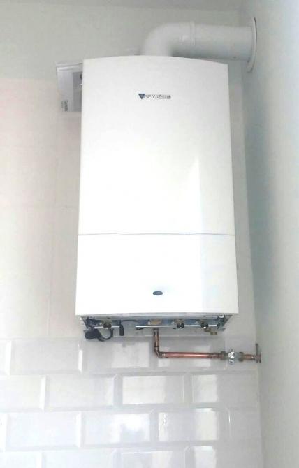 instalación de caldera de condensación